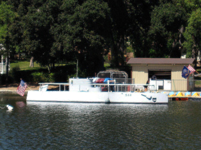 Atascadero Lake Submarine