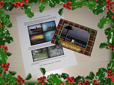 Christmascardletter