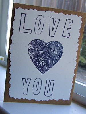 Valentines Day Card 1