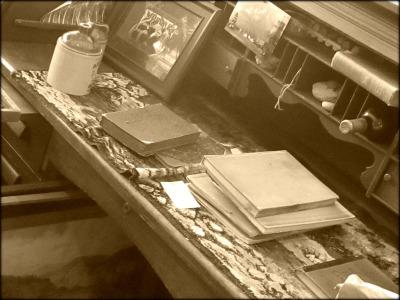Sepia Desk Blog Size
