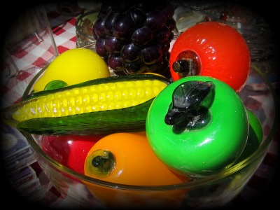31 Photos in 31 Days Bowl of Glass Produce