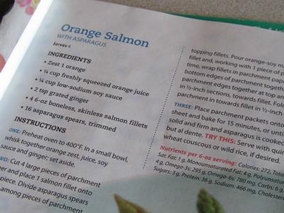 Orange salmon 1