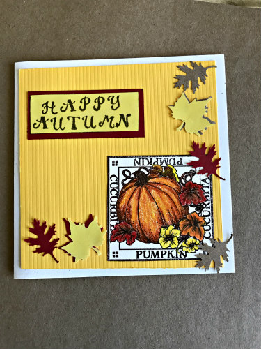 Happy autumn card 2016